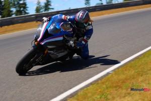 Racing on the 2019 BMW HP4 Race