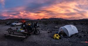 Travelling Near Titus Canyon Nevada