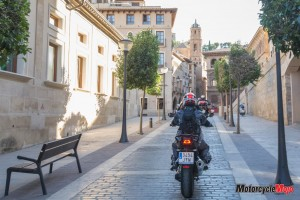 riding-through-the-streets-in-Spain
