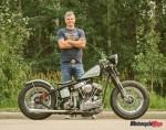Custom Harley Davidson Panhead