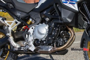 Engine of the 2019 BMW 850GS