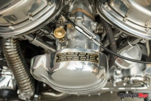 Engine of the Harley Davidson Panhead