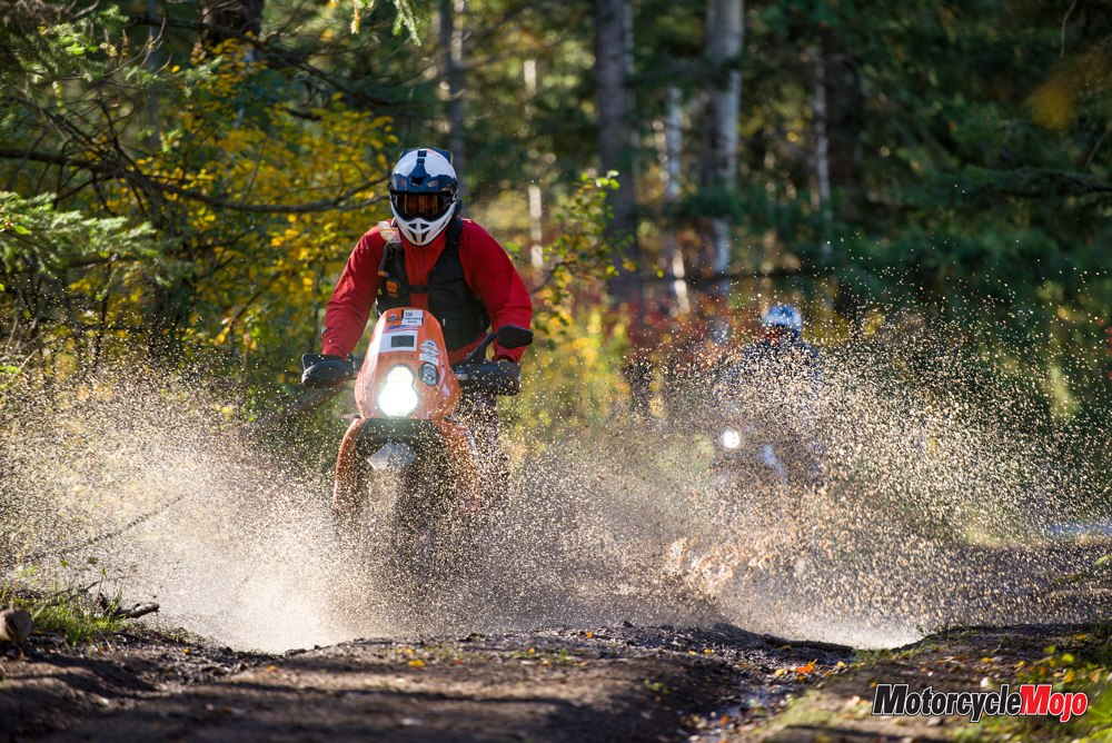 Riding in the 2019 KTM Adventure Rally