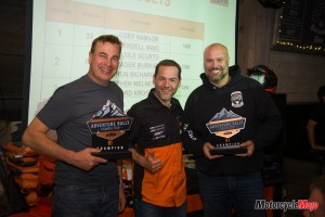 Winners of the 2019 KTM Adventure Rally