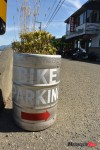 25 Bike Parking signage at the Highwayman Saloon, Union Bay