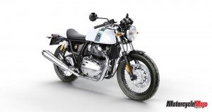 Continental GT 650 Ice Queen Front 3-4 RHS