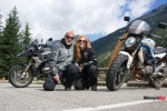 Motorcycle Traveling to BC