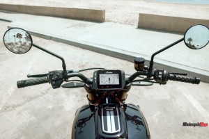 Spedometer of the 2019 Indian FTR1200