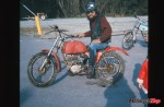 Buying a red Bultaco in 1974 began his love of off road riding