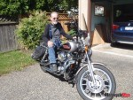 One of Wally_s last bikes, a Harley-Davidson bought in 2013