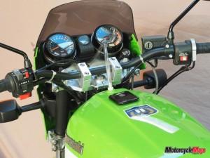 Speedometer of the Custom Kawasaki S1
