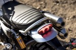 Seat of the 2019 Triumph Scrambler