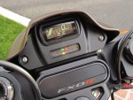 Spedometer of the 2019 Harley Davidson FXDR