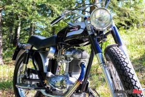 Custom 1966 250 Ducati Street Scrambler