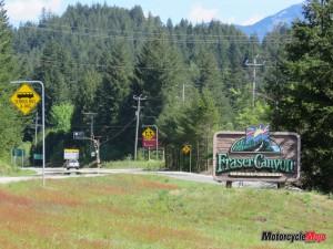 Entering Fraser Canyon
