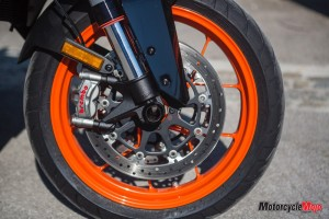 Front Wheel of the 2019 KTM 1290 Super Duke GT