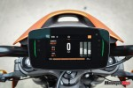 Dashboard of the 2020 H-D LiveWire