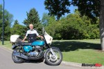 Owner of a Customized CB 750