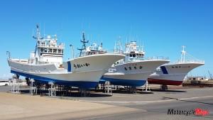 Hokkaido fishing boats